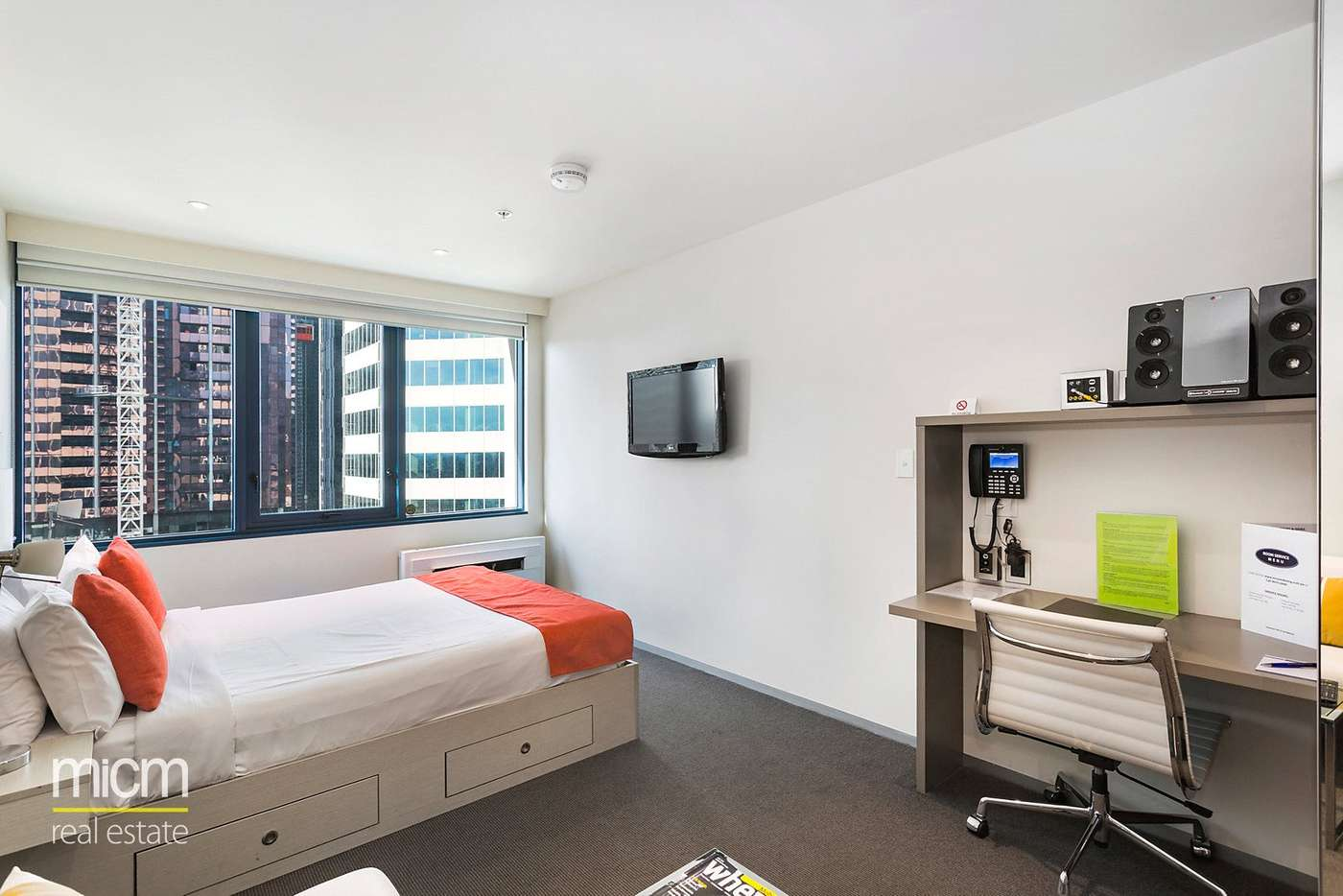 Main view of Homely studio listing, 1209/181 A'Beckett Street, Melbourne, VIC 3000