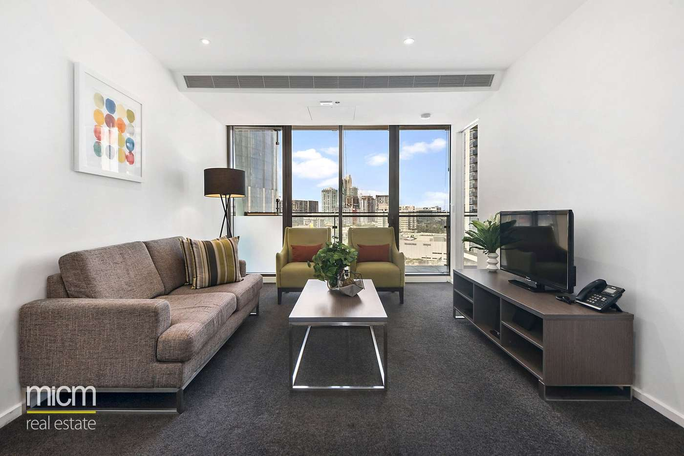 Main view of Homely apartment listing, 1202/118 Kavanagh Street, Southbank, VIC 3006