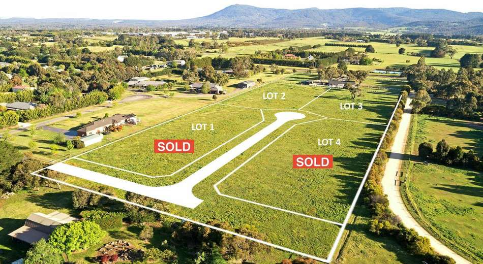 Lot 1 and Lot 4, 63 Joseph Avenue, New Gisborne VIC 3438