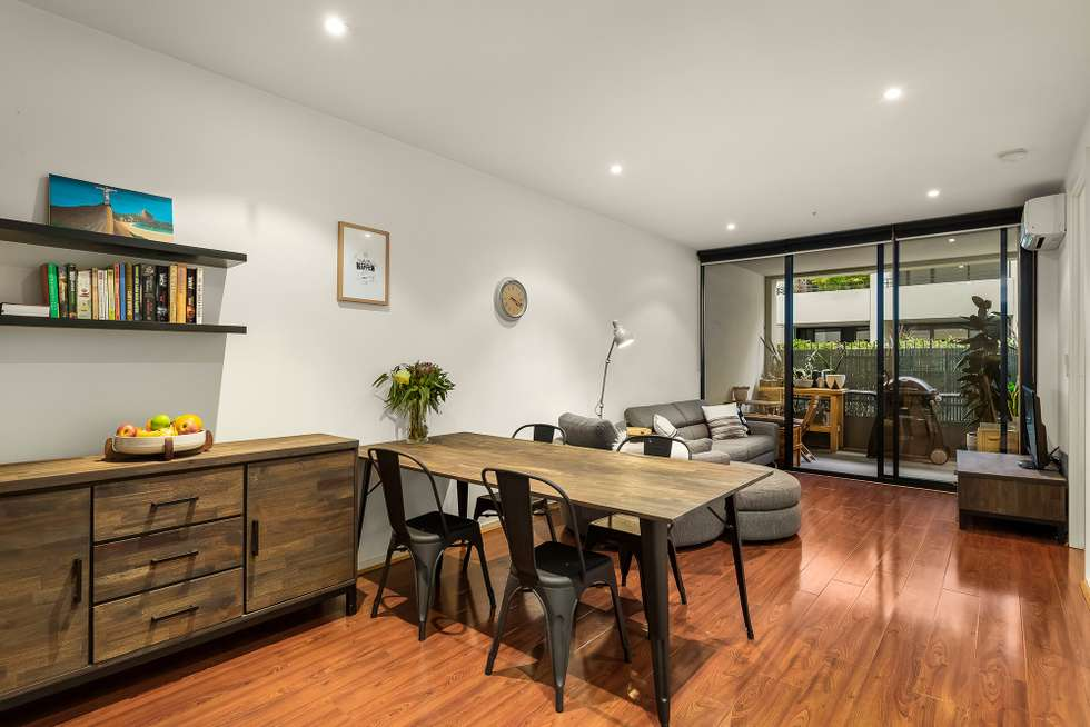 Second view of Homely apartment listing, 206/52 Nott  Street, Port Melbourne VIC 3207