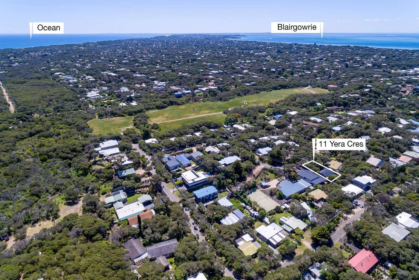Main view of Homely house listing, 11 Yera Crescent, Rye VIC 3941