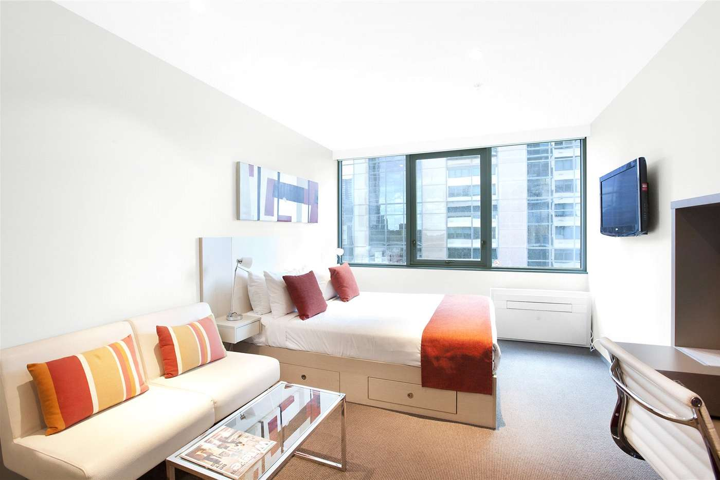 Main view of Homely studio listing, 602/181 ABeckett Street, Melbourne VIC 3000