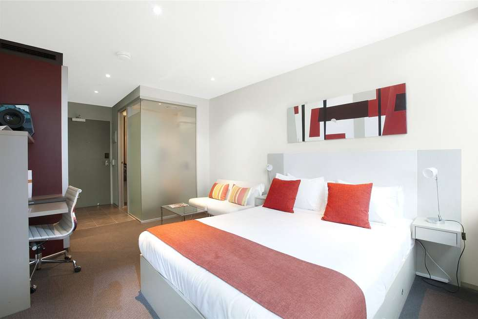 Third view of Homely studio listing, 602/181 ABeckett Street, Melbourne VIC 3000