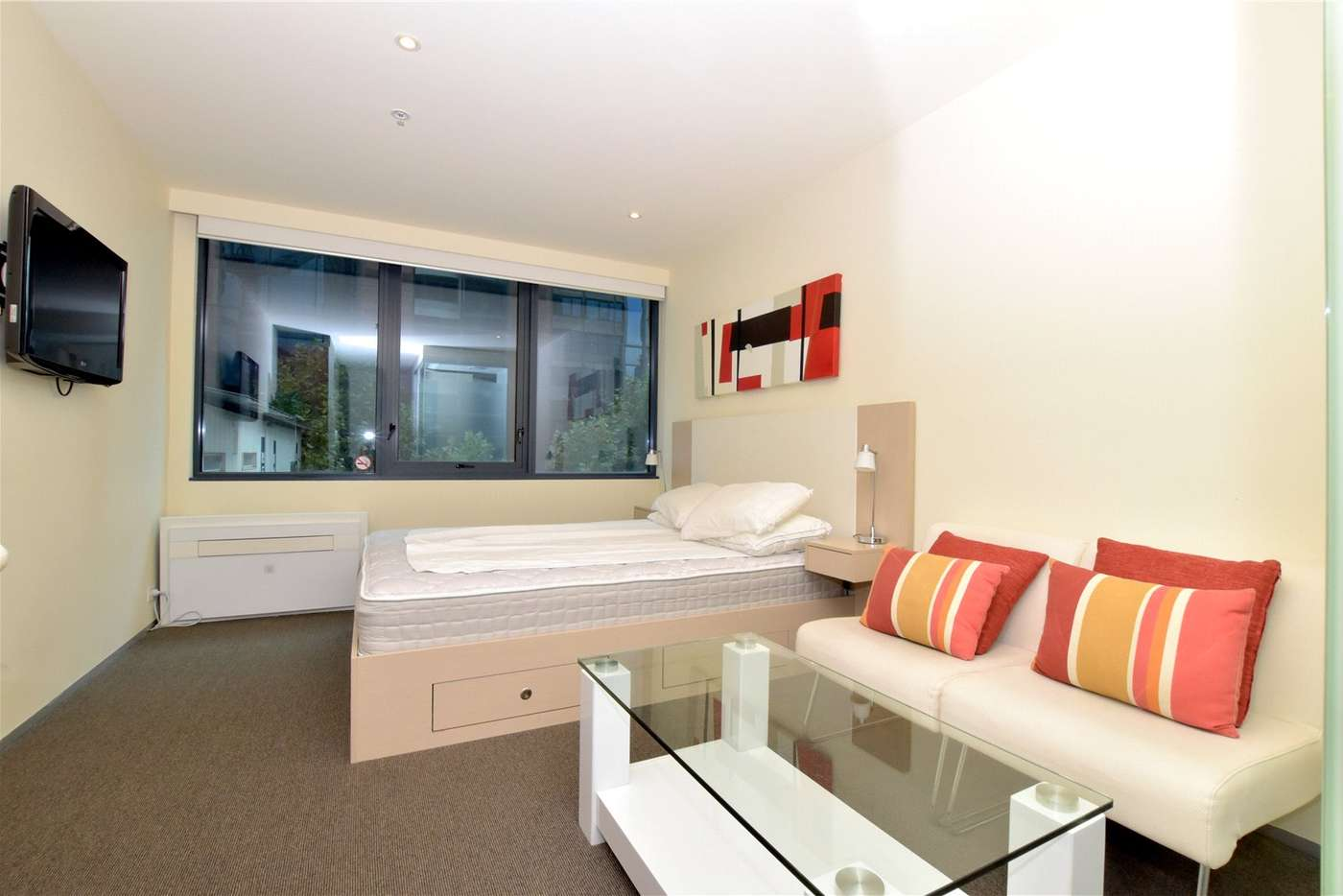 Main view of Homely studio listing, 401/181 ABeckett Street, Melbourne VIC 3000