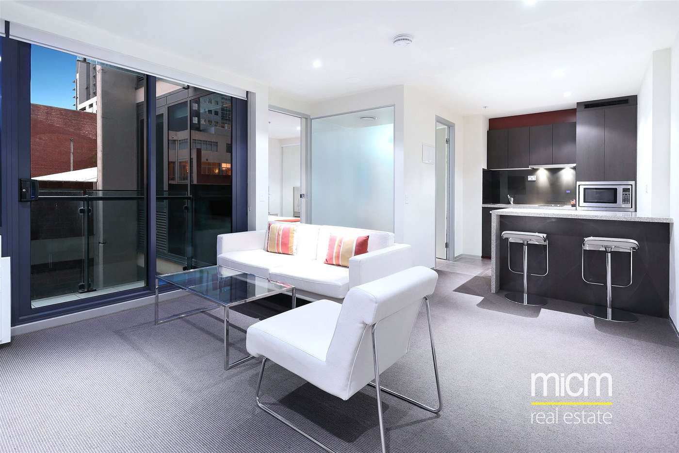 Main view of Homely apartment listing, 412/181 ABeckett Street, Melbourne VIC 3000