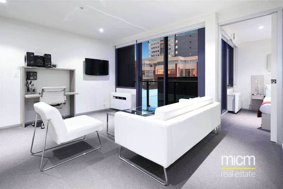 Third view of Homely apartment listing, 412/181 ABeckett Street, Melbourne VIC 3000