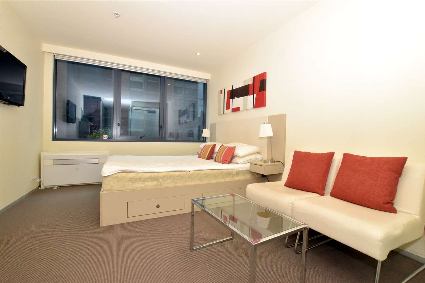 Main view of Homely studio listing, 501/181 ABeckett Street, Melbourne VIC 3000