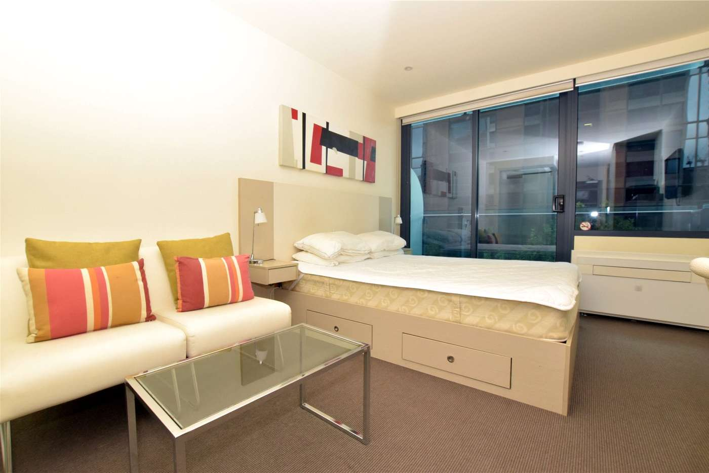 Main view of Homely studio listing, 504/181 ABeckett Street, Melbourne VIC 3000