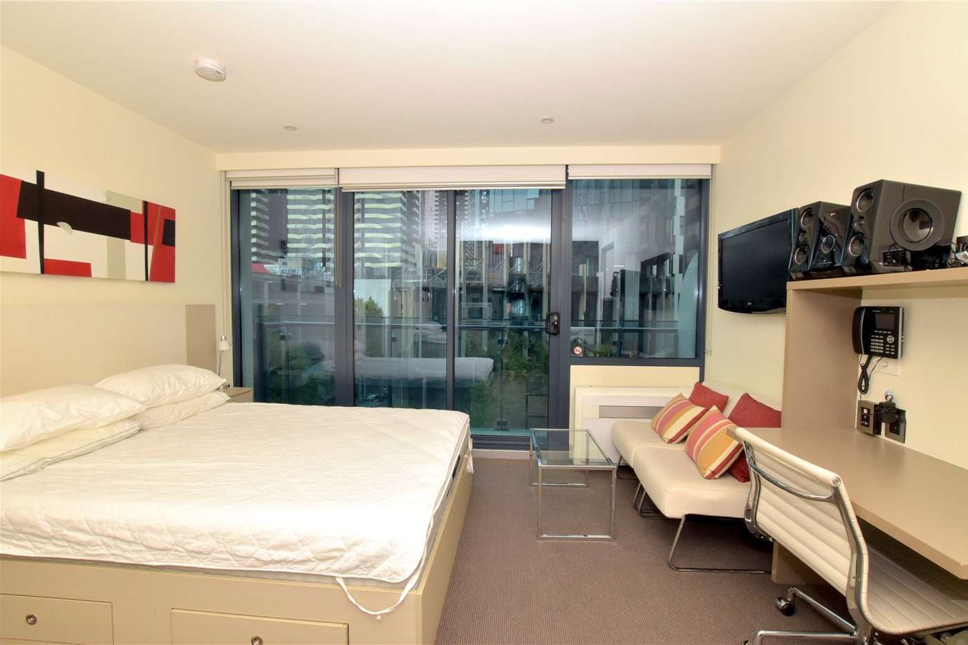 Main view of Homely studio listing, 507/181 ABeckett Street, Melbourne VIC 3000