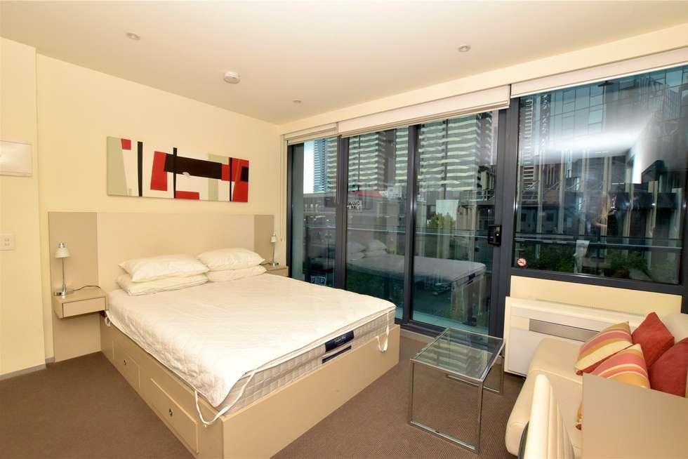 Third view of Homely studio listing, 507/181 ABeckett Street, Melbourne VIC 3000
