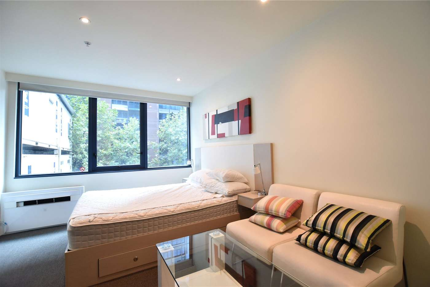 Main view of Homely studio listing, 301/181 ABeckett Street, Melbourne VIC 3000