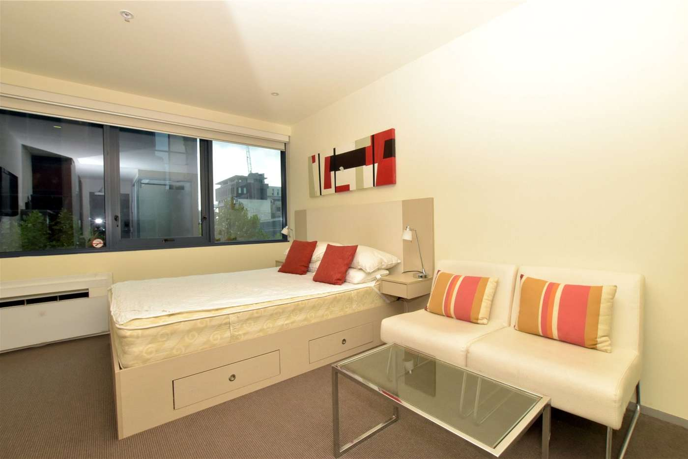 Main view of Homely studio listing, 303/181 ABeckett Street, Melbourne VIC 3000