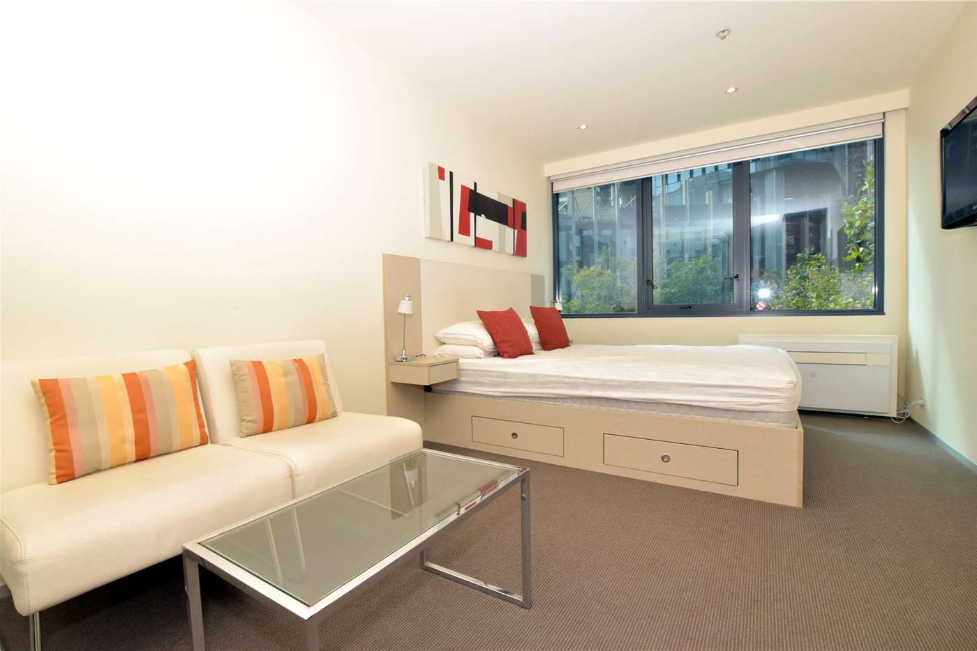 Main view of Homely studio listing, 309/181 ABeckett Street, Melbourne VIC 3000