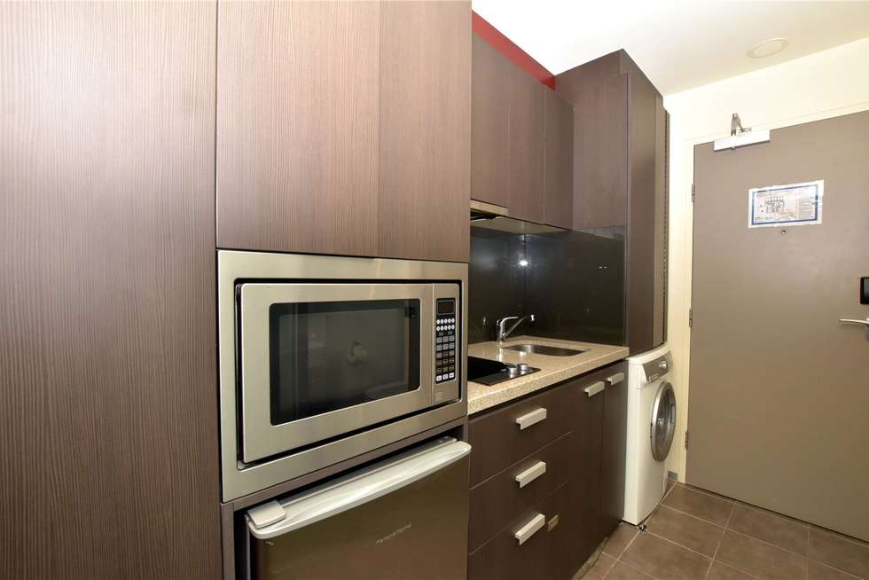 Second view of Homely studio listing, 309/181 ABeckett Street, Melbourne VIC 3000