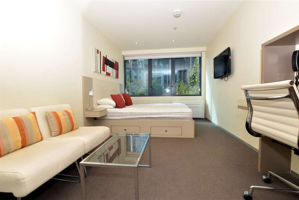 Third view of Homely studio listing, 309/181 ABeckett Street, Melbourne VIC 3000