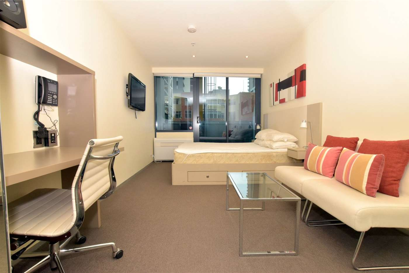 Main view of Homely studio listing, 410/181 ABeckett Street, Melbourne VIC 3000