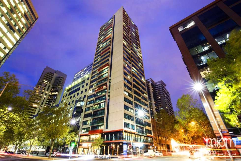 Second view of Homely studio listing, 608/181 ABeckett Street, Melbourne VIC 3000