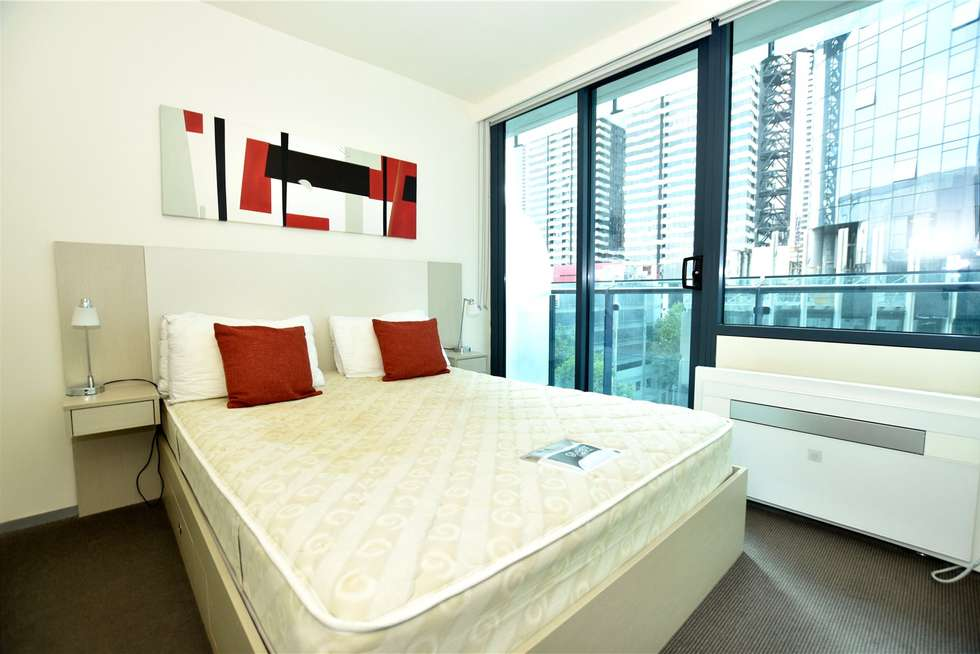 Third view of Homely studio listing, 608/181 ABeckett Street, Melbourne VIC 3000