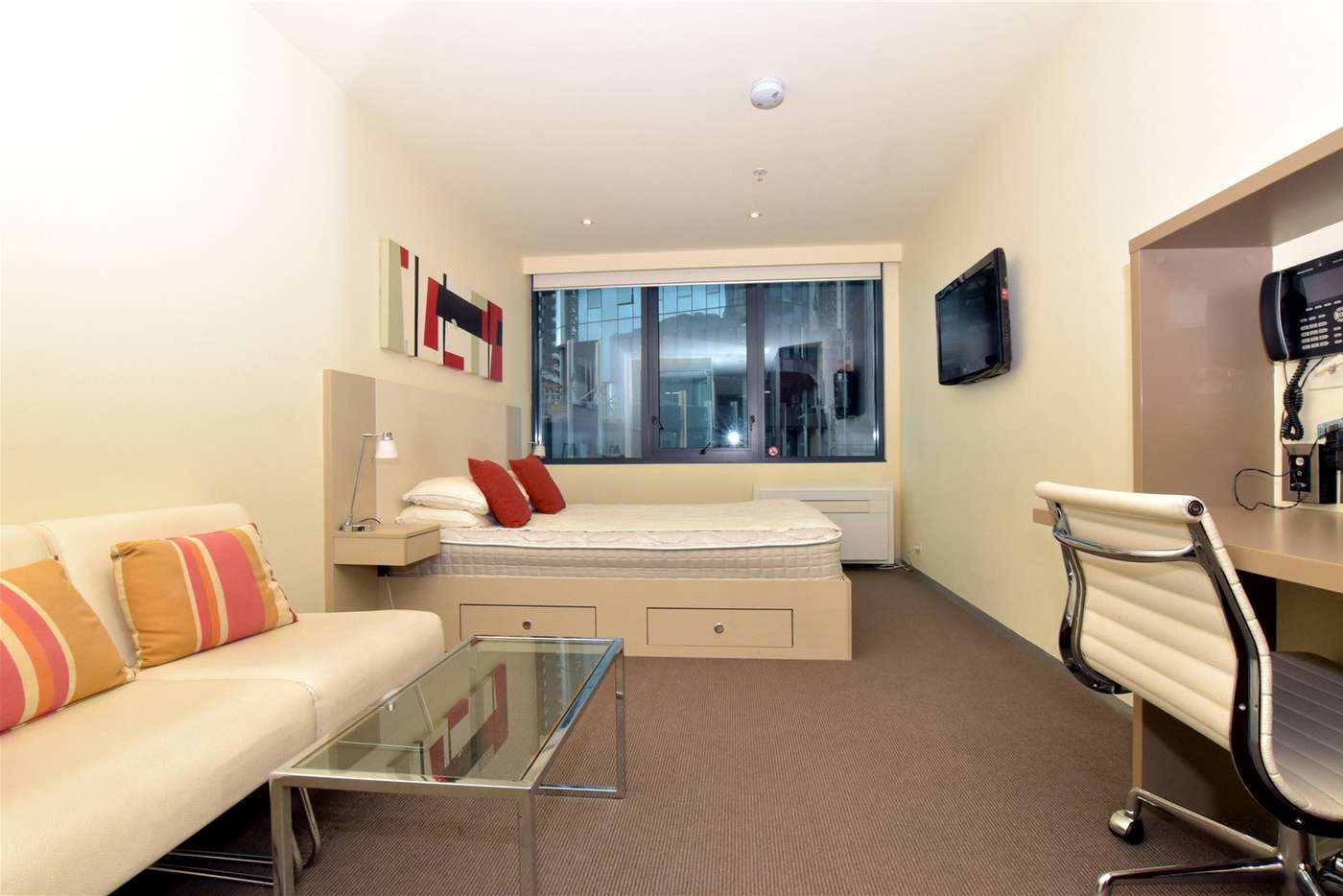 Main view of Homely studio listing, 509/181 ABeckett Street, Melbourne VIC 3000