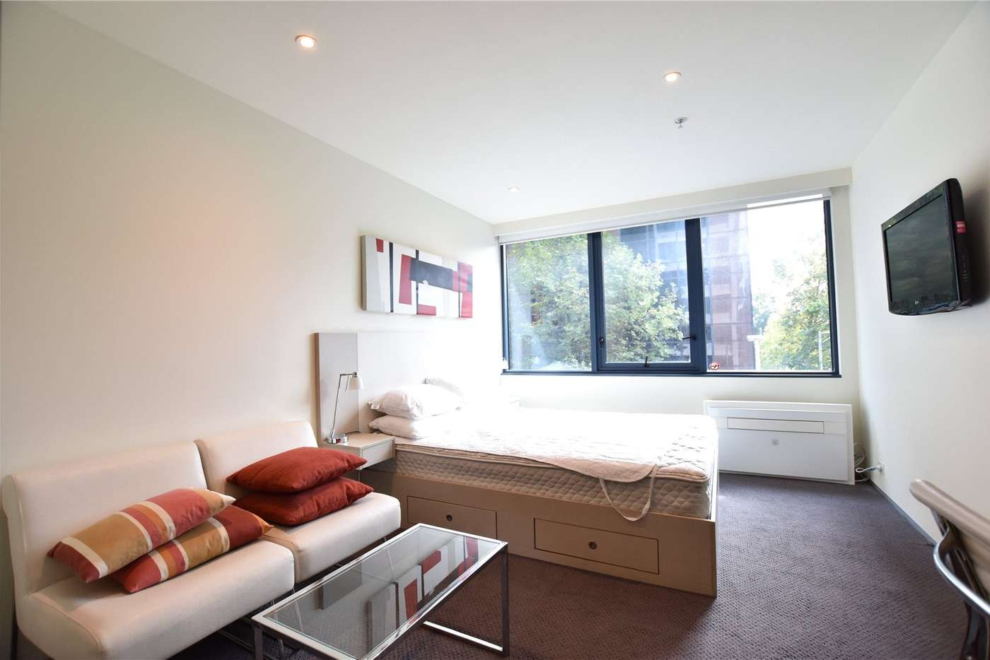 Main view of Homely studio listing, 306/181 ABeckett Street, Melbourne VIC 3000