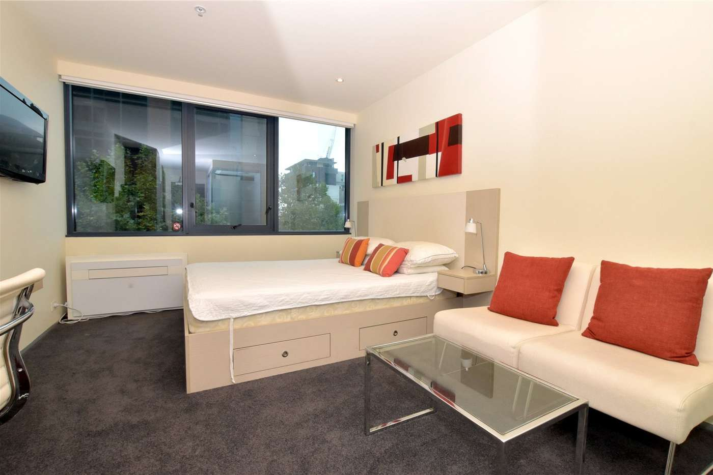 Main view of Homely studio listing, 305/181 ABeckett Street, Melbourne VIC 3000