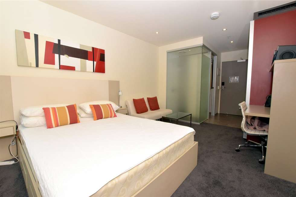 Third view of Homely studio listing, 305/181 ABeckett Street, Melbourne VIC 3000