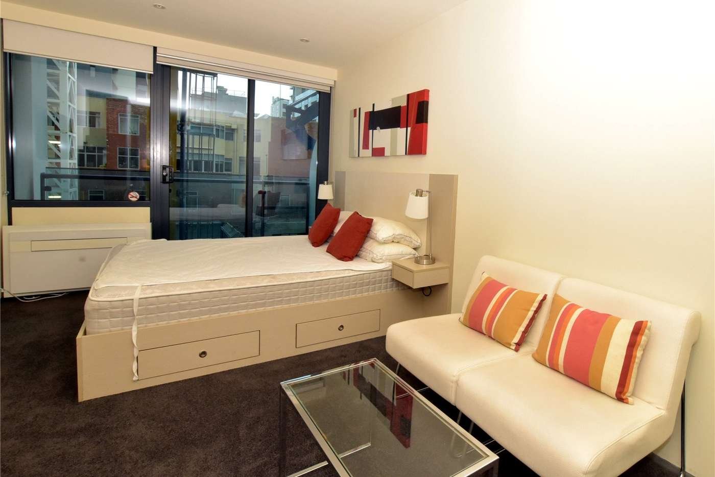 Main view of Homely studio listing, 510/181 ABeckett Street, Melbourne VIC 3000