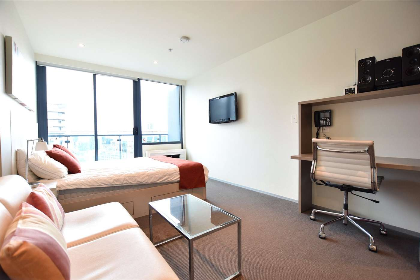 Main view of Homely studio listing, 2711/181 ABeckett Street, Melbourne VIC 3000