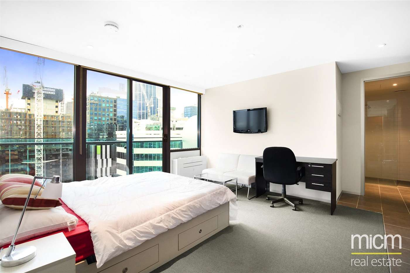 Main view of Homely studio listing, 2707/181 ABeckett Street, Melbourne VIC 3000