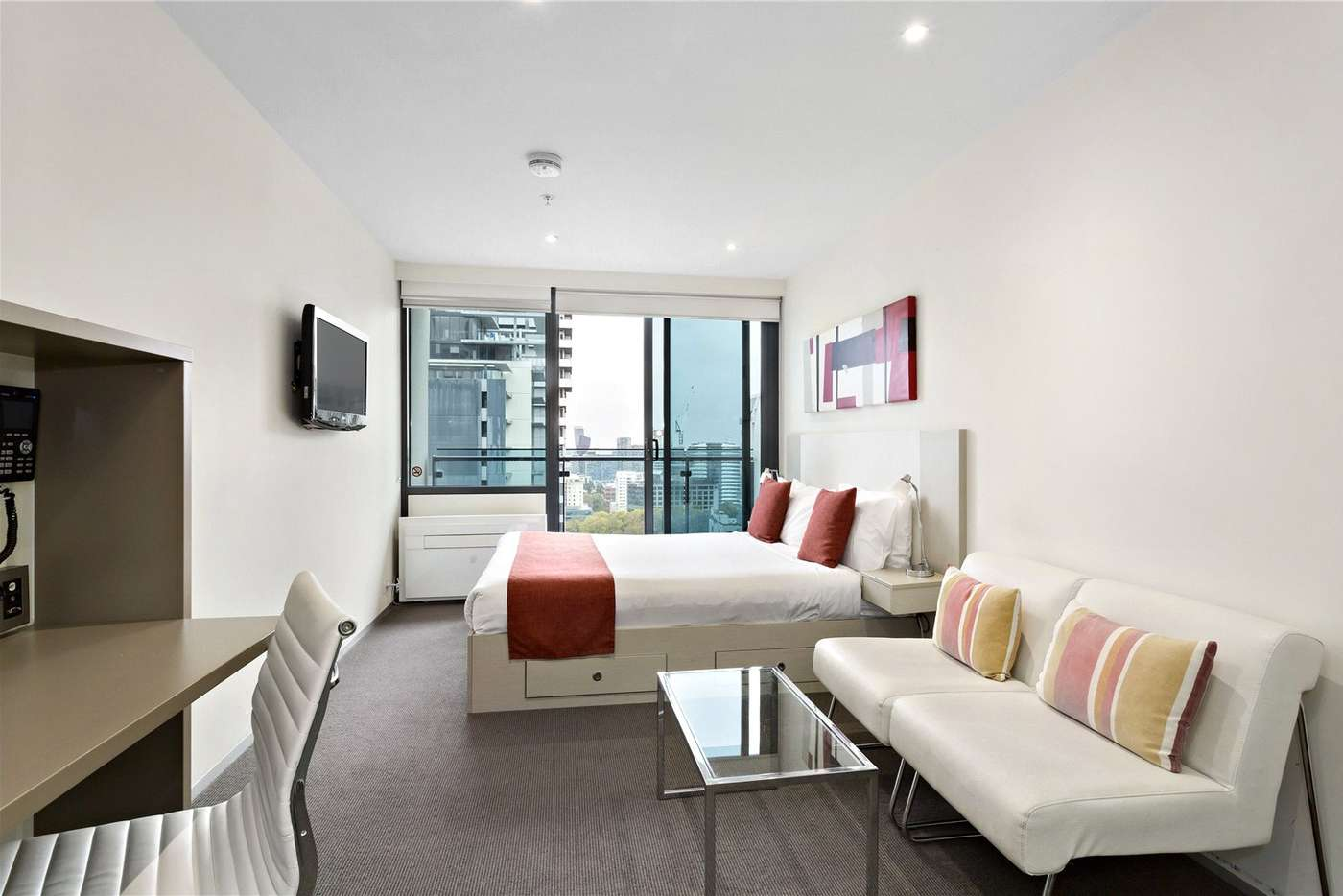 Main view of Homely studio listing, 2310/181 ABeckett Street, Melbourne VIC 3000