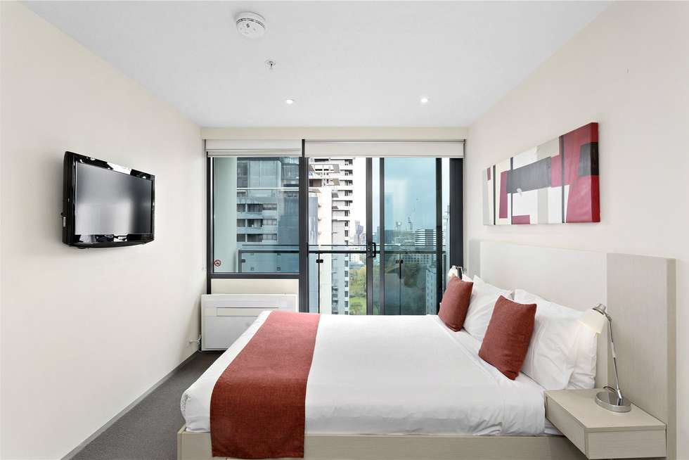 Third view of Homely studio listing, 2310/181 ABeckett Street, Melbourne VIC 3000