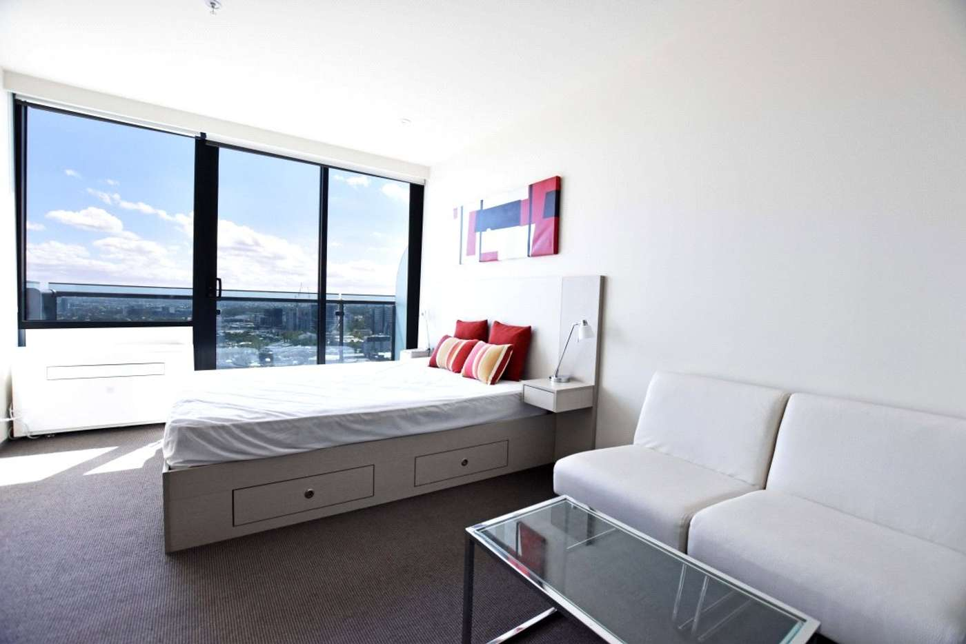 Main view of Homely studio listing, 2803/181 ABeckett Street, Melbourne VIC 3000