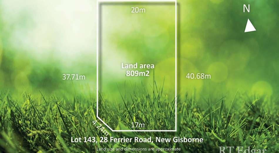 Lot 143, 28 Ferrier Road, New Gisborne VIC 3438