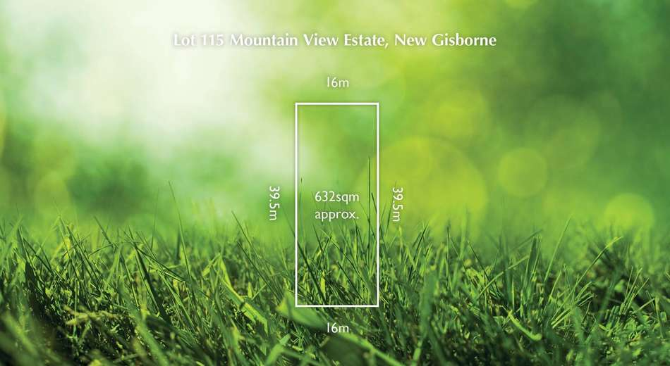 Lot 115 Mountain View Estate, New Gisborne VIC 3438