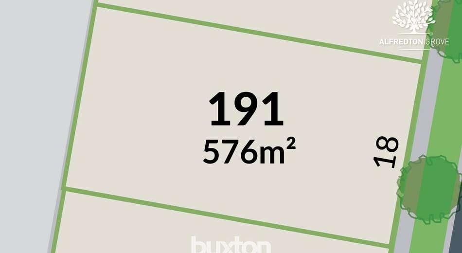 Alfredton Grove/Lot 191 Verdale Drive, Alfredton VIC 3350