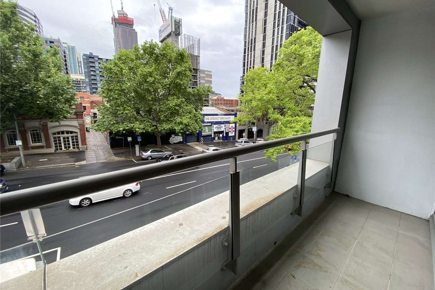 Sixth view of Homely apartment listing, 204/118 Dudley Street, West Melbourne VIC 3003