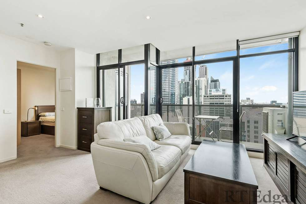 Second view of Homely apartment listing, 2408/380 Little Lonsdale Street, Melbourne VIC 3000