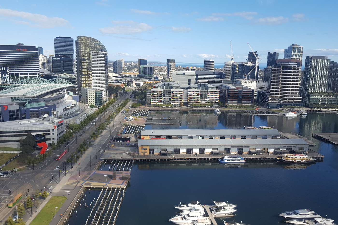 Seventh view of Homely apartment listing, S2805/231 Harbour Esplanade, Docklands VIC 3008