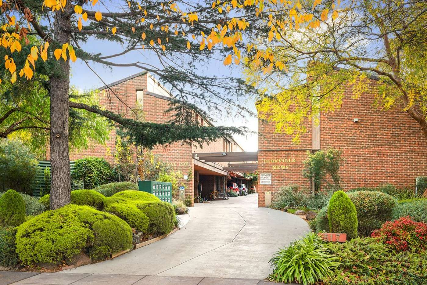 Main view of Homely townhouse listing, 13/517 Royal Parade, Parkville VIC 3052