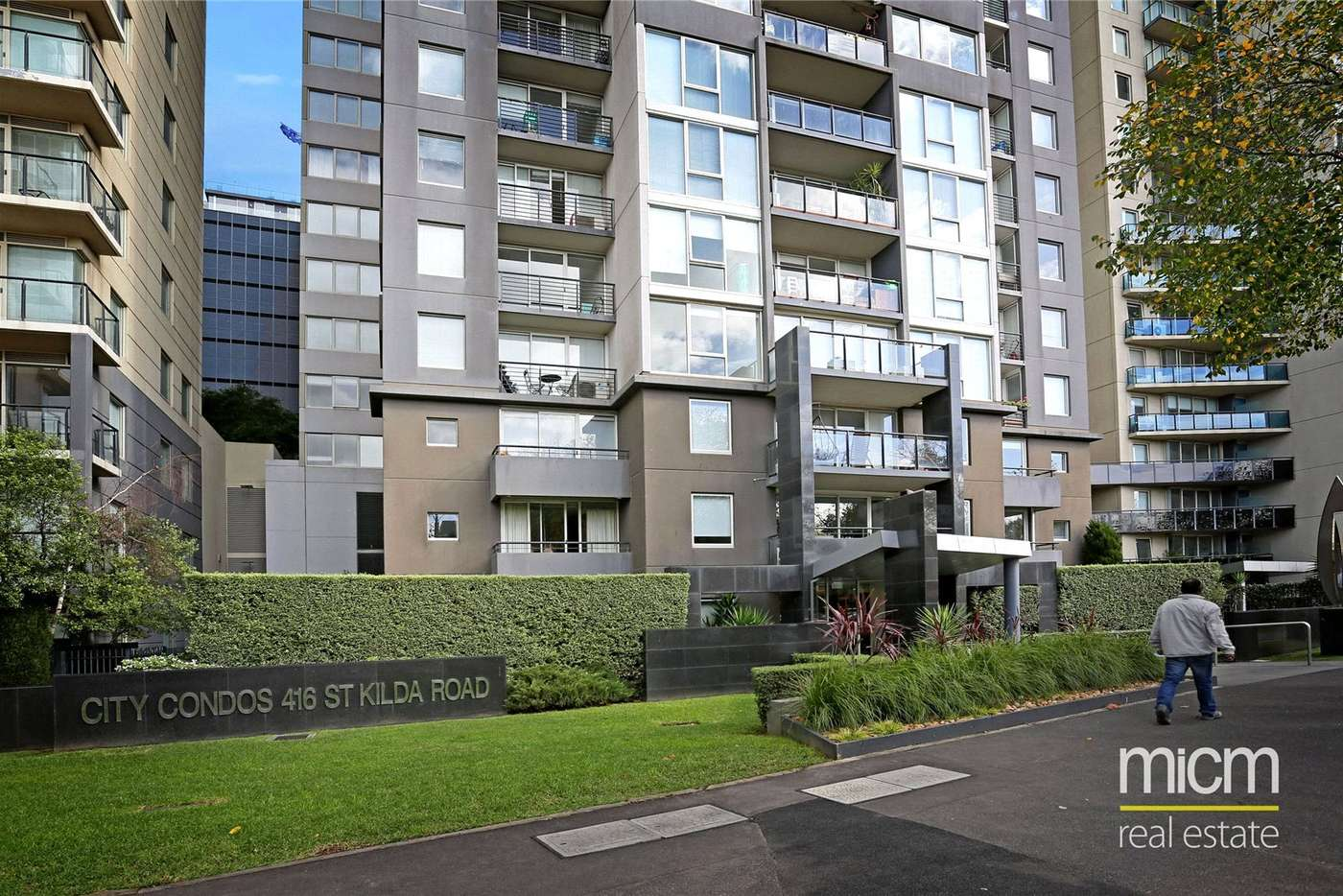 Main view of Homely apartment listing, 73/416 St Kilda Road, Melbourne VIC 3004