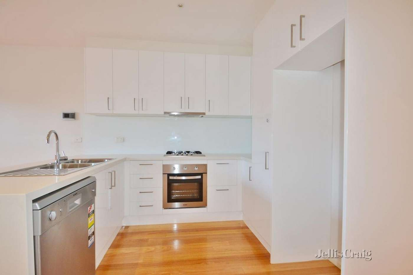 Main view of Homely townhouse listing, 28 Mary Moodie Way, Brunswick East VIC 3057
