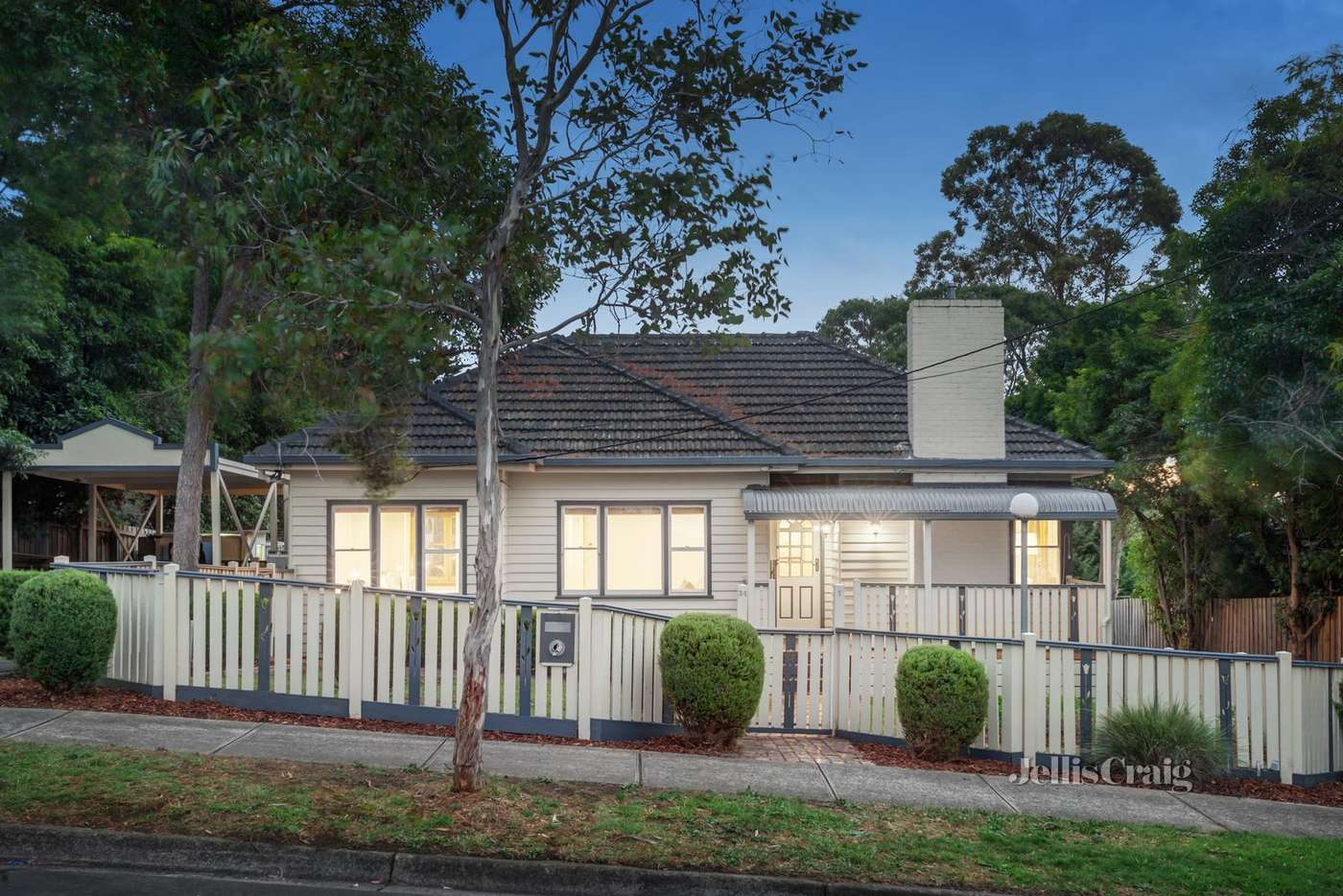 Main view of Homely unit listing, 1/34 Warnes Road, Mitcham VIC 3132