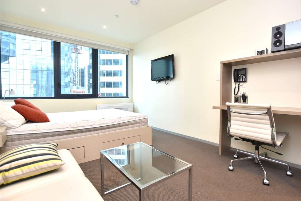Third view of Homely studio listing, 1609/181 ABeckett Street, Melbourne VIC 3000