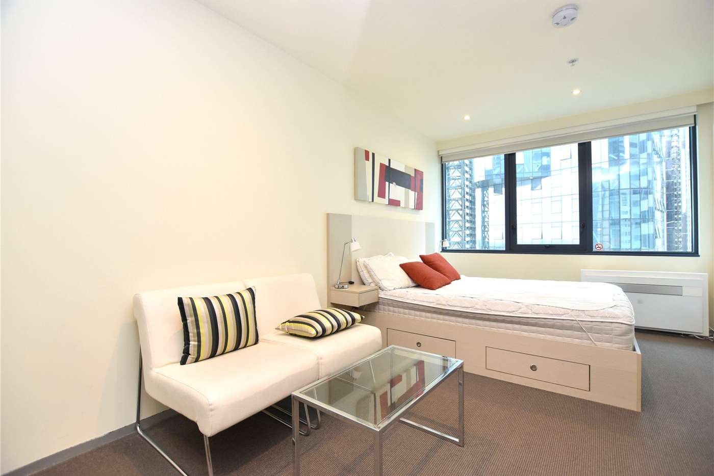 Main view of Homely studio listing, 1609/181 ABeckett Street, Melbourne VIC 3000