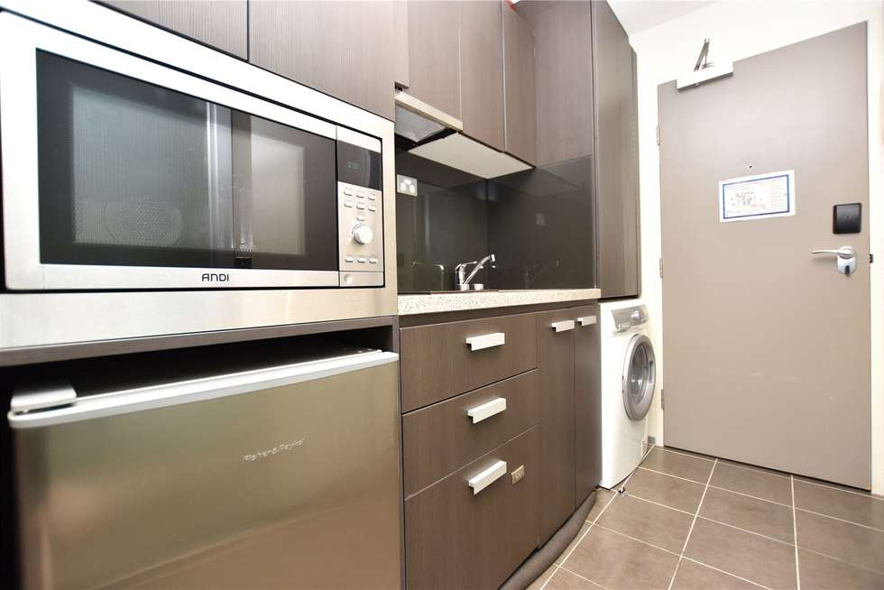 Second view of Homely studio listing, 1609/181 ABeckett Street, Melbourne VIC 3000