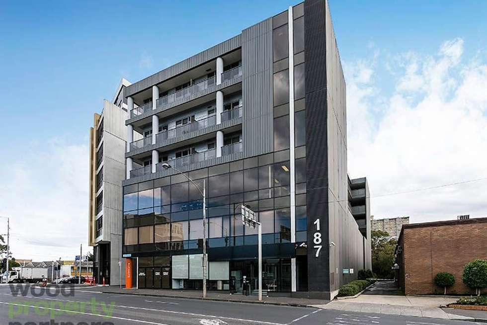 Second view of Homely apartment listing, 518/187 Boundary Road, North Melbourne VIC 3051