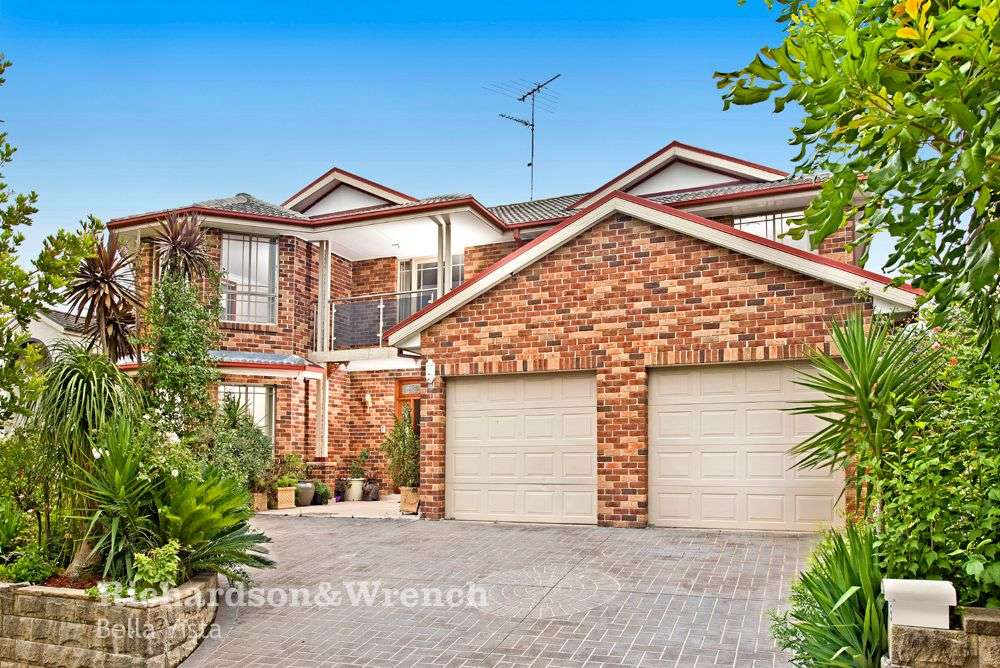 Main view of Homely house listing, 5 Hotham Avenue, Beaumont Hills, NSW 2155