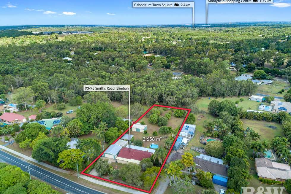 Second view of Homely acreageSemiRural listing, 93-95 Smiths Road, Elimbah QLD 4516