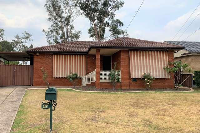 40 Deborah Crescent, Cambridge Park NSW 2747