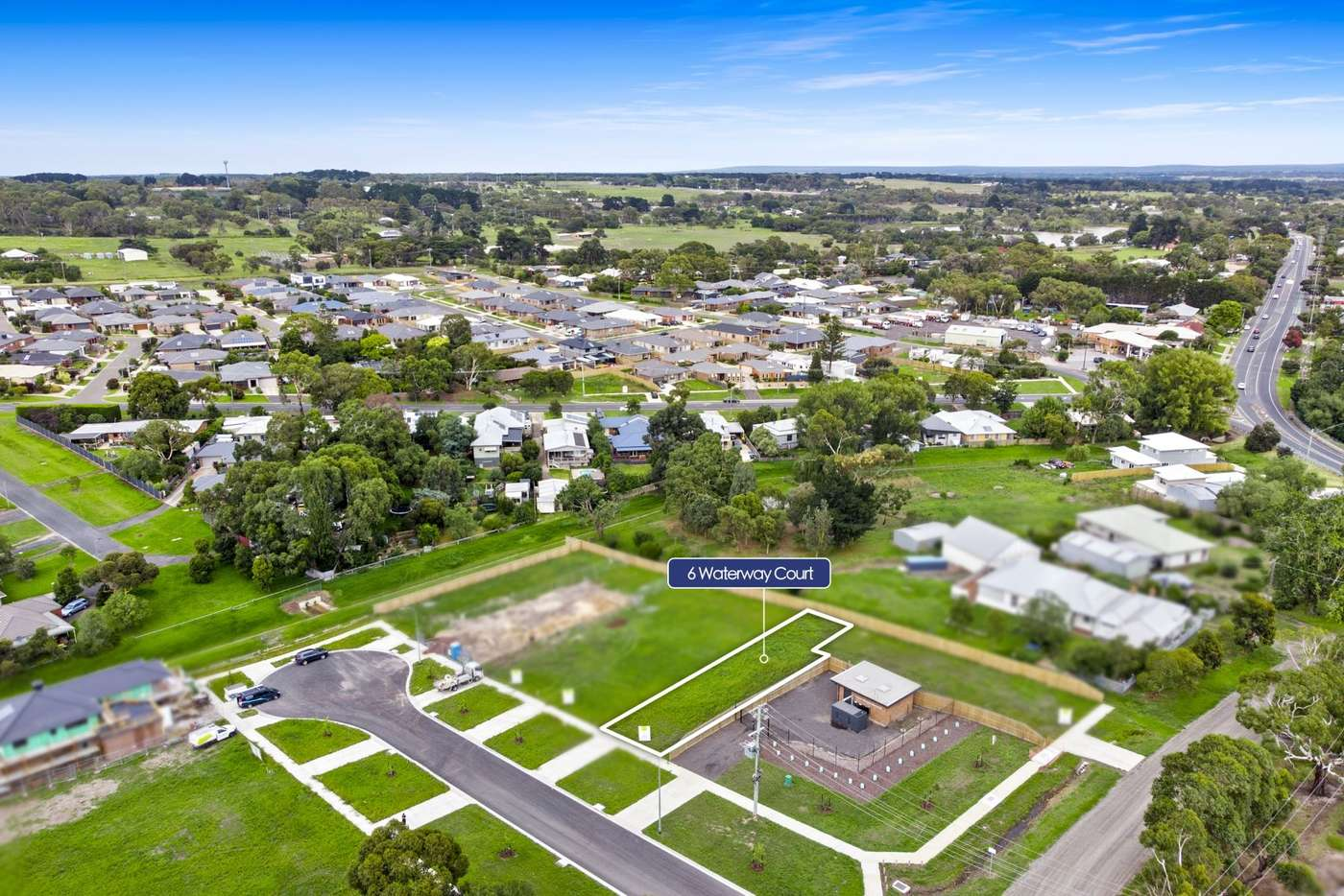 Main view of Homely residentialLand listing, 6 Waterway Court, Drysdale VIC 3222